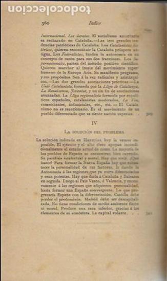 Libros antiguos: Cosas de España / Pompeyo Gener. BCN, 1903. 20x13 cm. 360 p. Piel con nervios. - Foto 9 - 135951870