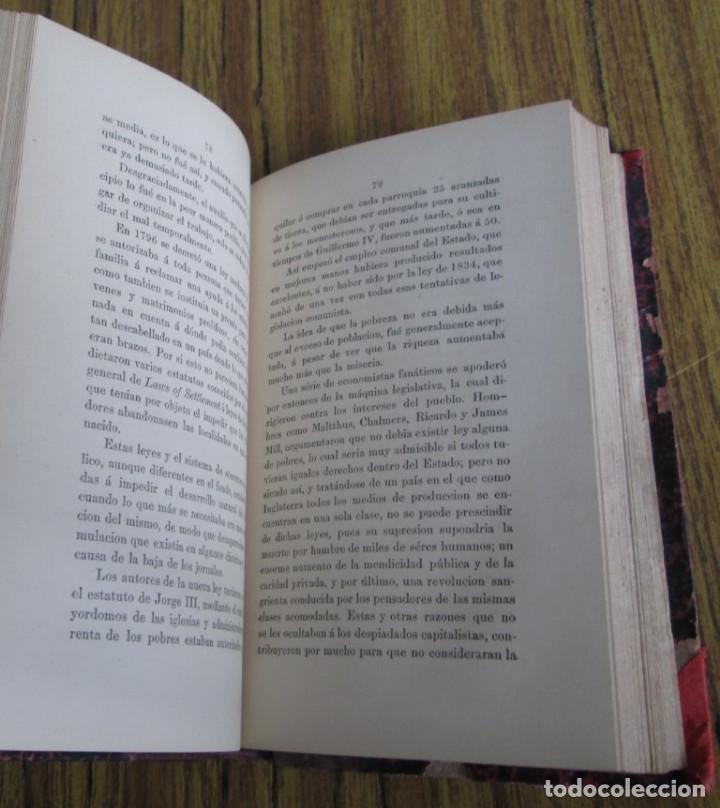 Libros antiguos: EL SOCIALISMO EN INGLATERRA - Por Eduardo de Huertas - Madrid 1885 - Foto 2 - 136068494