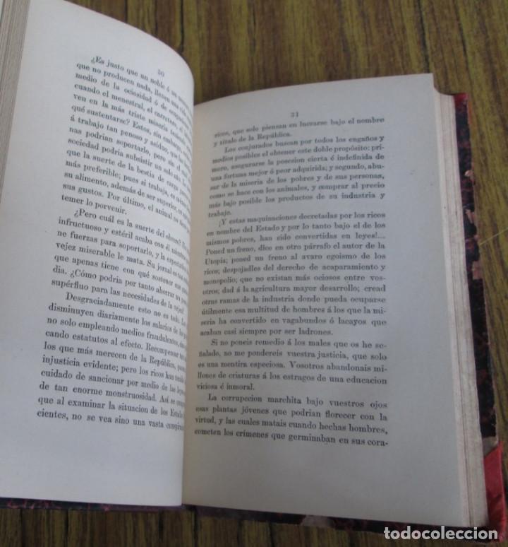Libros antiguos: EL SOCIALISMO EN INGLATERRA - Por Eduardo de Huertas - Madrid 1885 - Foto 3 - 136068494