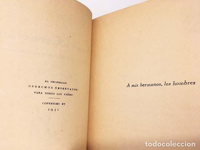 Libros antiguos: Fermín Galán : Nueva creación. Política ya no sólo es arte, sino ciencia. (Caro Raggio, 1931) - Foto 2 - 136476398