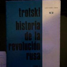 Libros antiguos: HISTORIA DE LA REVOLUCION RUSA TROTSKI TOMO 2 RUEDO IBÉRICO 1ª EDICIÓN 1972. Lote 137155838