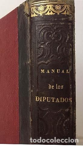 MANUAL DEL CONGRESO DE LOS DIPUTADOS. (MADRID, IMPRENTA NACIONAL, 1864) (Libros Antiguos, Raros y Curiosos - Pensamiento - Política)