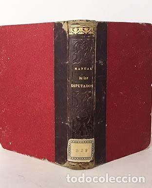 Libros antiguos: Manual del Congreso de los Diputados. (Madrid, Imprenta Nacional, 1864) - Foto 2 - 139426758