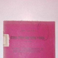 Libros antiguos: ESTUDIOS CRÍTICOS SOBRE HISTORIA Y POLÍTICA (1892-1898) JUAN VALERA 1914 OBRAS COMPLETAS TOMO XXXIX. Lote 140799186