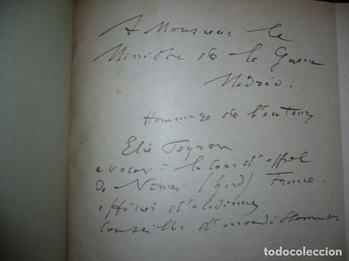 Libros antiguos: BAZAINE FUT-IL UN TRAITRE ELIE PEYRON 1904 PARIS DEDICADO POR AUTOR AL MINISTRO DE LA GUERRA - Foto 7 - 141581026