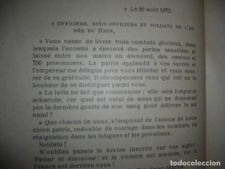 Libros antiguos: BAZAINE FUT-IL UN TRAITRE ELIE PEYRON 1904 PARIS DEDICADO POR AUTOR AL MINISTRO DE LA GUERRA - Foto 12 - 141581026