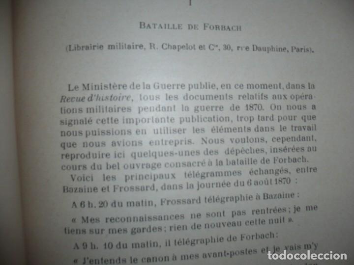 Libros antiguos: BAZAINE FUT-IL UN TRAITRE ELIE PEYRON 1904 PARIS DEDICADO POR AUTOR AL MINISTRO DE LA GUERRA - Foto 14 - 141581026