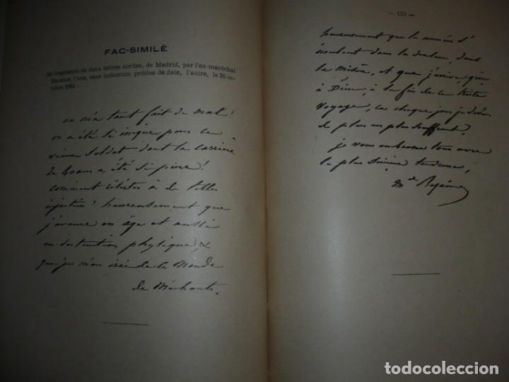 Libros antiguos: BAZAINE FUT-IL UN TRAITRE ELIE PEYRON 1904 PARIS DEDICADO POR AUTOR AL MINISTRO DE LA GUERRA - Foto 16 - 141581026
