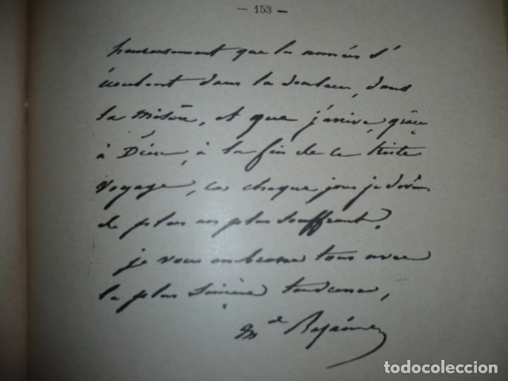 Libros antiguos: BAZAINE FUT-IL UN TRAITRE ELIE PEYRON 1904 PARIS DEDICADO POR AUTOR AL MINISTRO DE LA GUERRA - Foto 17 - 141581026