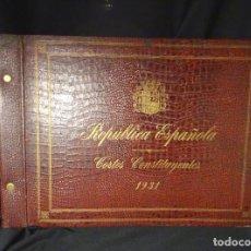 Libros antiguos: RARO: CONSTITUCION ESPAÑOLA REPUBLICA, AÑO 1931, FOTOS TODOS LOS DIPUTADOS Y PARTIDOS.ESPAÑA. Lote 141744838