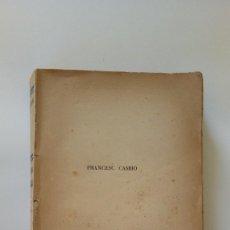 Libros antiguos: CAMBÓ. Lote 143648722