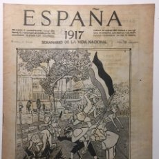Libros antiguos: ESPAÑA. SEMANARIO DE VIDA NACIONAL. AÑO III. N. 103. 11 DE ENERO 1917. Lote 143793354
