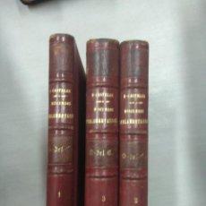 Libros antiguos: DISCURSOS PARLAMENTARIOS EMILIO CASTELAR - 3 TOMOS. Lote 146561738