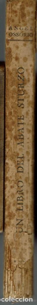 Libros antiguos: UN LIBRO DEL ABATE STURZO, DE ÁNGEL OSSORIO. AÑO 1928. (4.2) - Foto 3 - 53202177