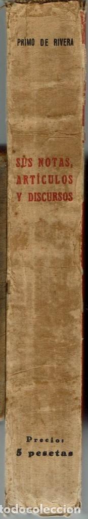 Libros antiguos: EL PENSAMIENTO DE PRIMO DE RIVERA. SUS NOTAS, ARTÍCULOS Y DISCURSOS. AÑO 1929. (4.2) - Foto 3 - 53372336