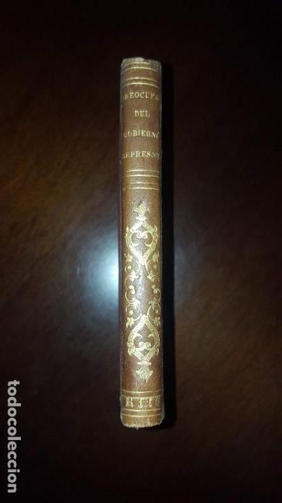 Libros antiguos: 1 tomo con dos libros. Preocupaciones del Gobierno Representativo y De la Soberanía del Pueblo -1841 - Foto 3 - 147784150