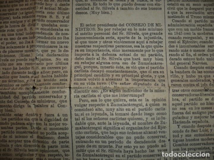 Libros antiguos: DISCURSO PRONUNCIADO POR EXCMO SR.D. ANTONIO CANOVAS DEL CASTILLO 1895 MADRID - Foto 4 - 149263026