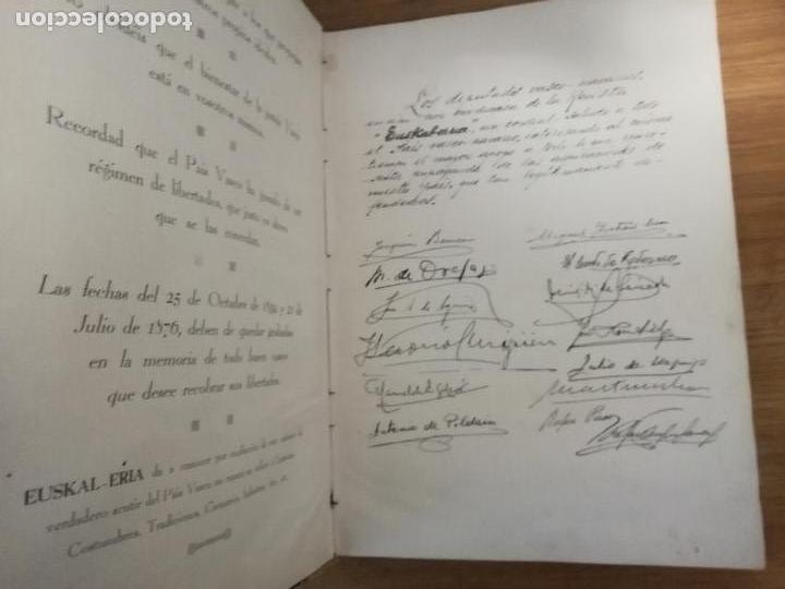Libros antiguos: EUSKAL-ERRIA. ESTATUTO PAIS VASCO. PUBLICACION PROPAGADORA DE LAS LIBERTADES VASCAS. 1931-1932 - Foto 3 - 149621758