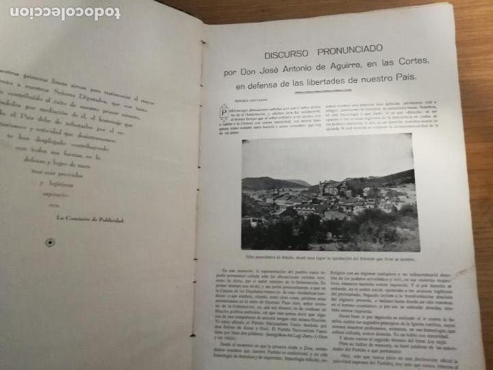 Libros antiguos: EUSKAL-ERRIA. ESTATUTO PAIS VASCO. PUBLICACION PROPAGADORA DE LAS LIBERTADES VASCAS. 1931-1932 - Foto 4 - 149621758
