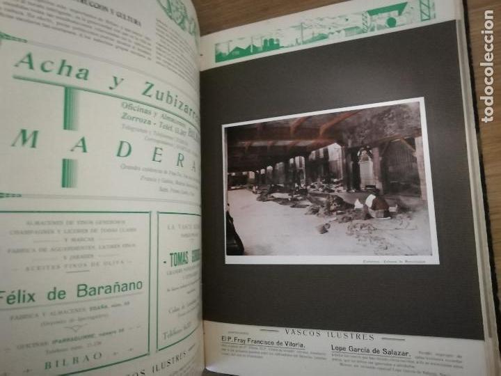 Libros antiguos: EUSKAL-ERRIA. ESTATUTO PAIS VASCO. PUBLICACION PROPAGADORA DE LAS LIBERTADES VASCAS. 1931-1932 - Foto 6 - 149621758