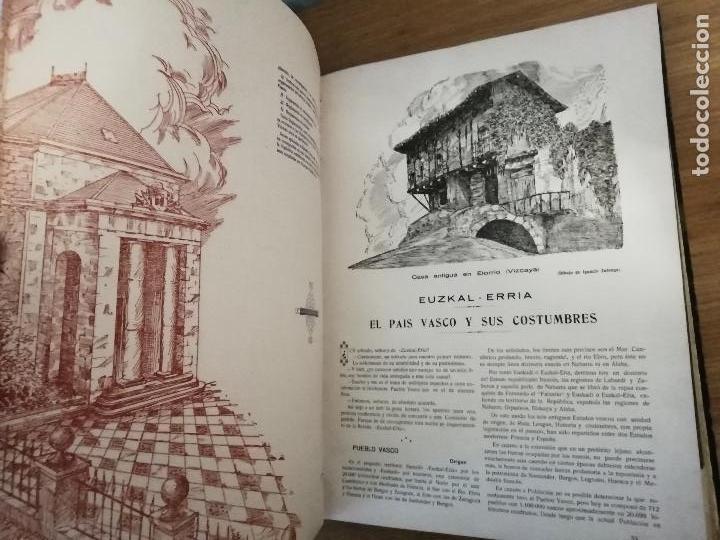 Libros antiguos: EUSKAL-ERRIA. ESTATUTO PAIS VASCO. PUBLICACION PROPAGADORA DE LAS LIBERTADES VASCAS. 1931-1932 - Foto 8 - 149621758