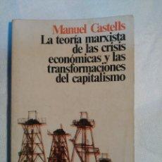 Libros antiguos: LA TEORIA MARXISTA DE LA CRISIS ECONOMICAS. MANUEL CASTELLS. . Lote 152210858