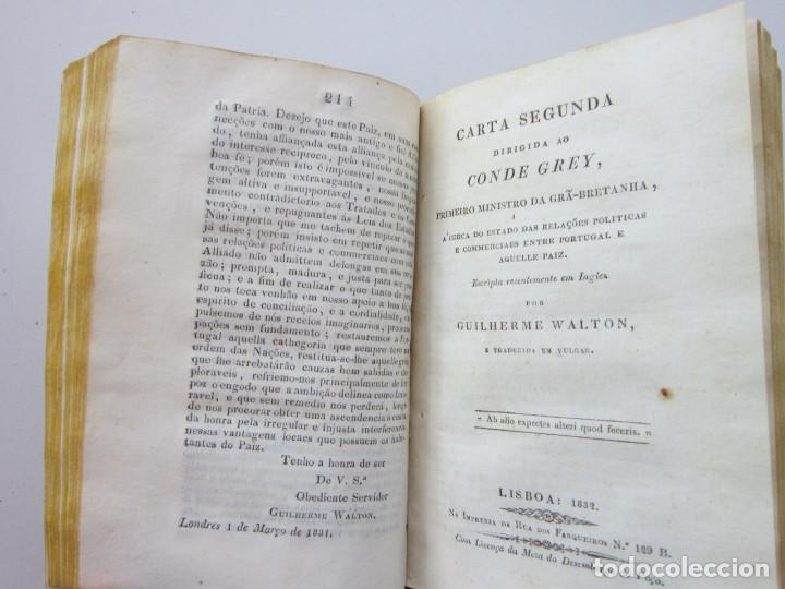 Libros antiguos: Guilherme Walton. Carta primeira dirigida ao Conde Grey, primeiro ministro da Grã-Bretanha 1831 - Foto 2 - 152654194