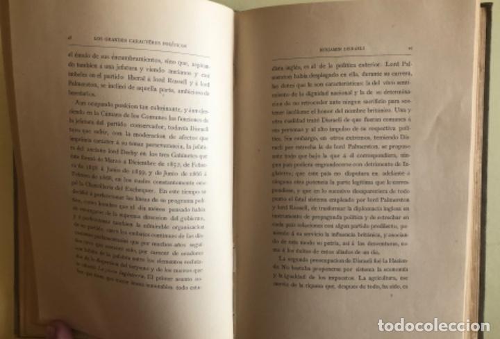 Libros antiguos: CONDE DE LAS ALMENAS- LOS GRANDES CARACTERES POLITICOS CONTEMPORANEOS- MADRID 1.883 - Foto 3 - 153208234