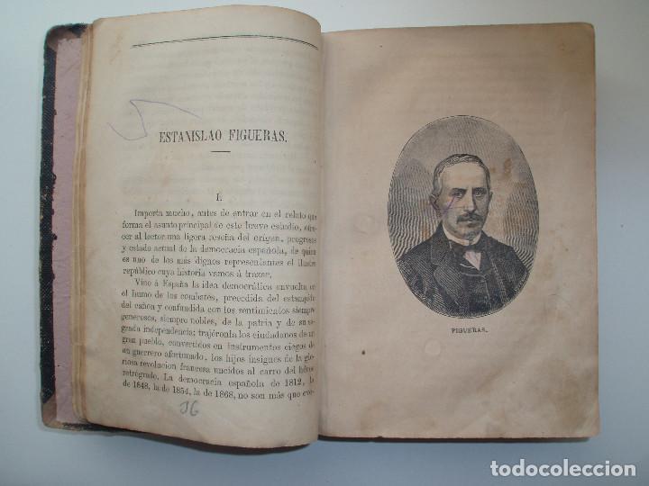 Libros antiguos: ANUARIO REPUBLICANO FEDERAL. J. CASTRO Y COMPAÑÍA. MADRID 1870. 2 TOMOS. - Foto 4 - 157215766