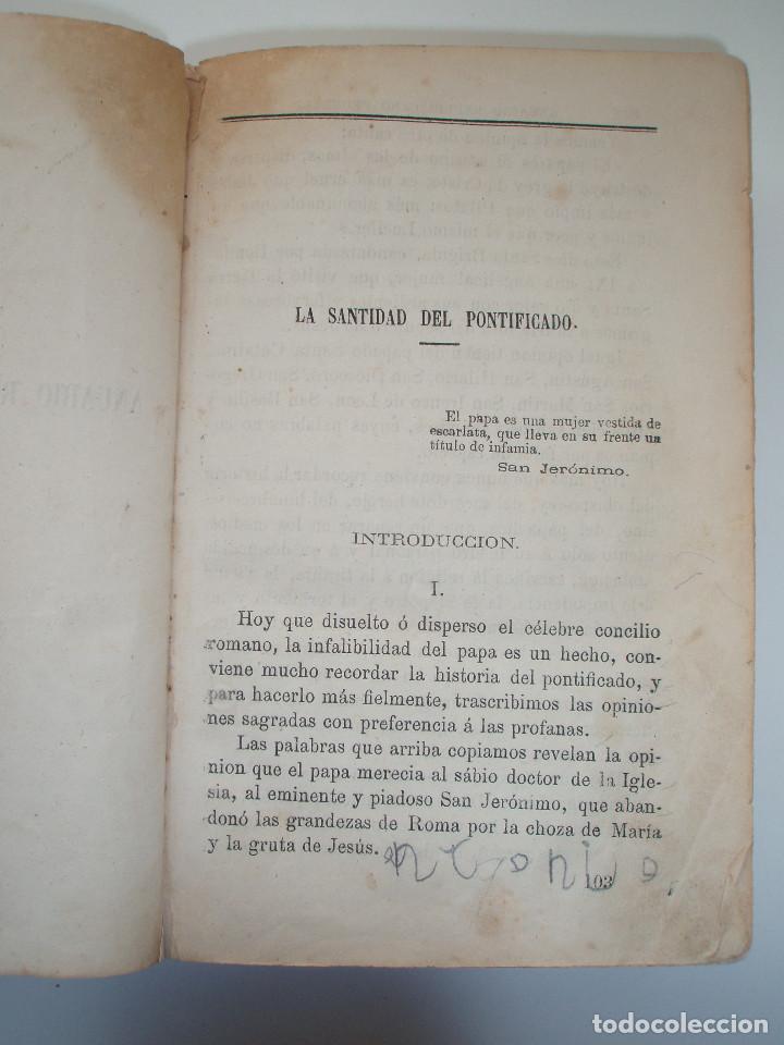 Libros antiguos: ANUARIO REPUBLICANO FEDERAL. J. CASTRO Y COMPAÑÍA. MADRID 1870. 2 TOMOS. - Foto 11 - 157215766