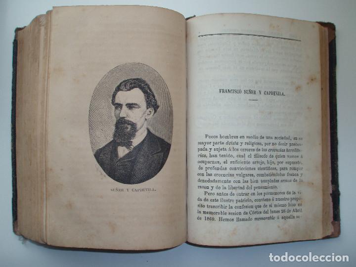 Libros antiguos: ANUARIO REPUBLICANO FEDERAL. J. CASTRO Y COMPAÑÍA. MADRID 1870. 2 TOMOS. - Foto 12 - 157215766