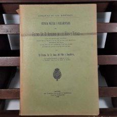 Libros antiguos: HISTORIA POLÍTICA Y PARLAMENTARIA. IMP. V. TORDESILLAS. MADRID. 1913.. Lote 161259958