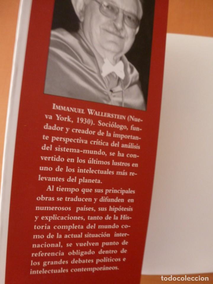 Libros antiguos: LA DECADENCIA DEL IMPERIO. EEUU EN UN MUNDO CAÓTICO. IMMANUEL WALLERSTEIN. EDITORIAL TXALAPARTA - Foto 2 - 163537142
