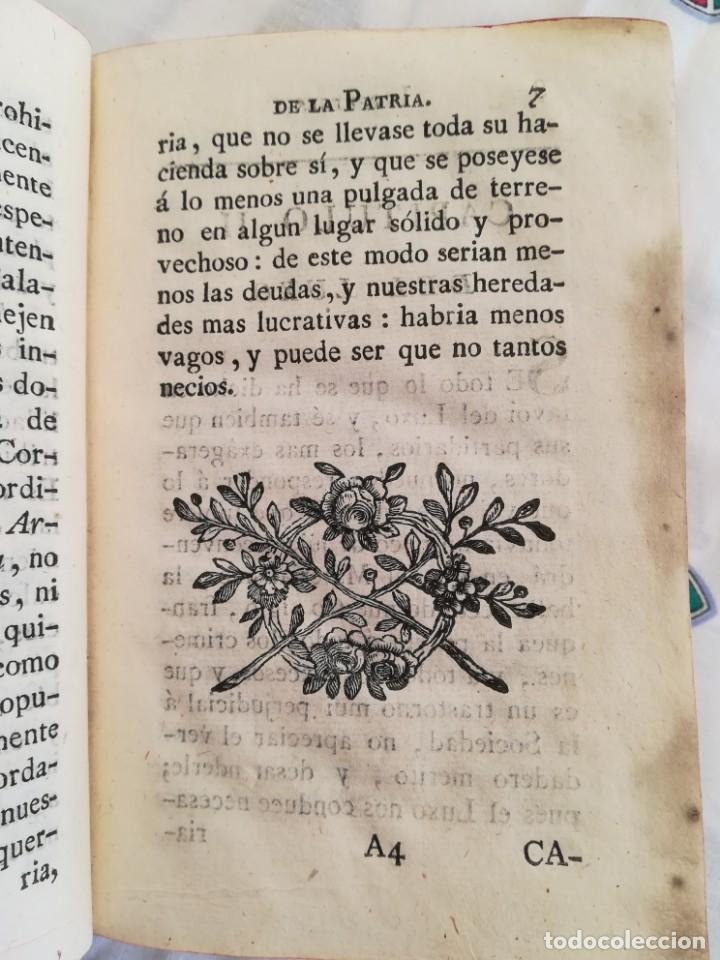 Libros antiguos: ANTIGUO LIBRO SIGLO XVIII,VERDADEROS INTERESES DE LA PATRIA,AÑO 1785,MILITAR,GUERRAS,MINAS ORO-PLATA - Foto 4 - 163969790