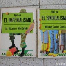 Libros antiguos: LIBROS DE POLITICA EL SINDICALISMO,POR ALFONSO CARLOS COMIN,80 PAGINAS. Lote 164041994