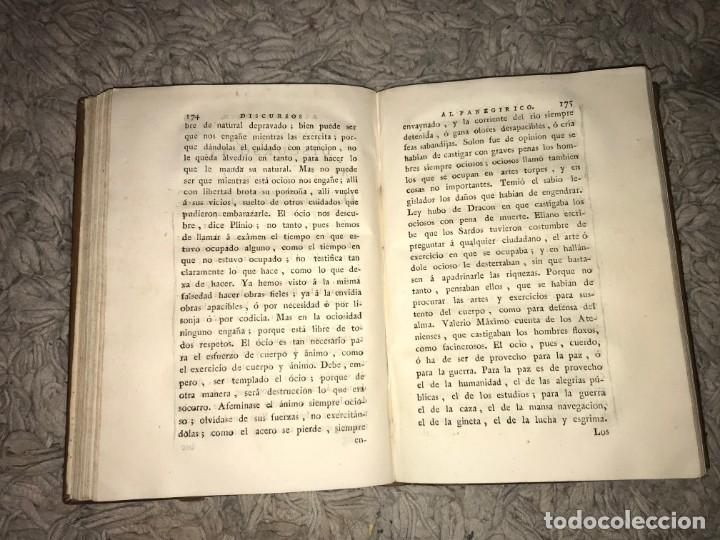 Libros antiguos: El Panegírico de Plinio en Castellano pronunciado en el Senado. Francisco de Barreda. 1787 - Foto 4 - 164277382