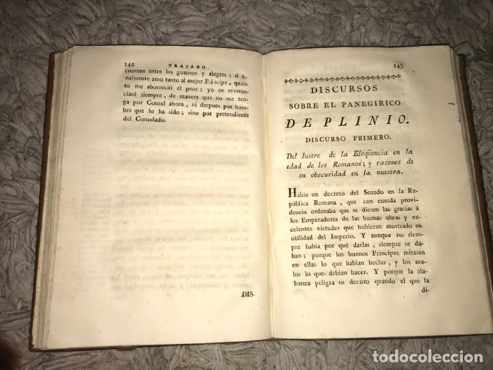 Libros antiguos: El Panegírico de Plinio en Castellano pronunciado en el Senado. Francisco de Barreda. 1787 - Foto 5 - 164277382
