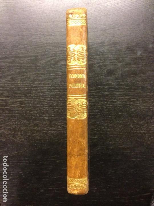 Libros antiguos: CURSO DE ECONOMIA POLITICA 1836-37, ROSSI, M.P., TRAD. D. PEDRO DE MADRAZO, 1840 - Foto 3 - 165214130