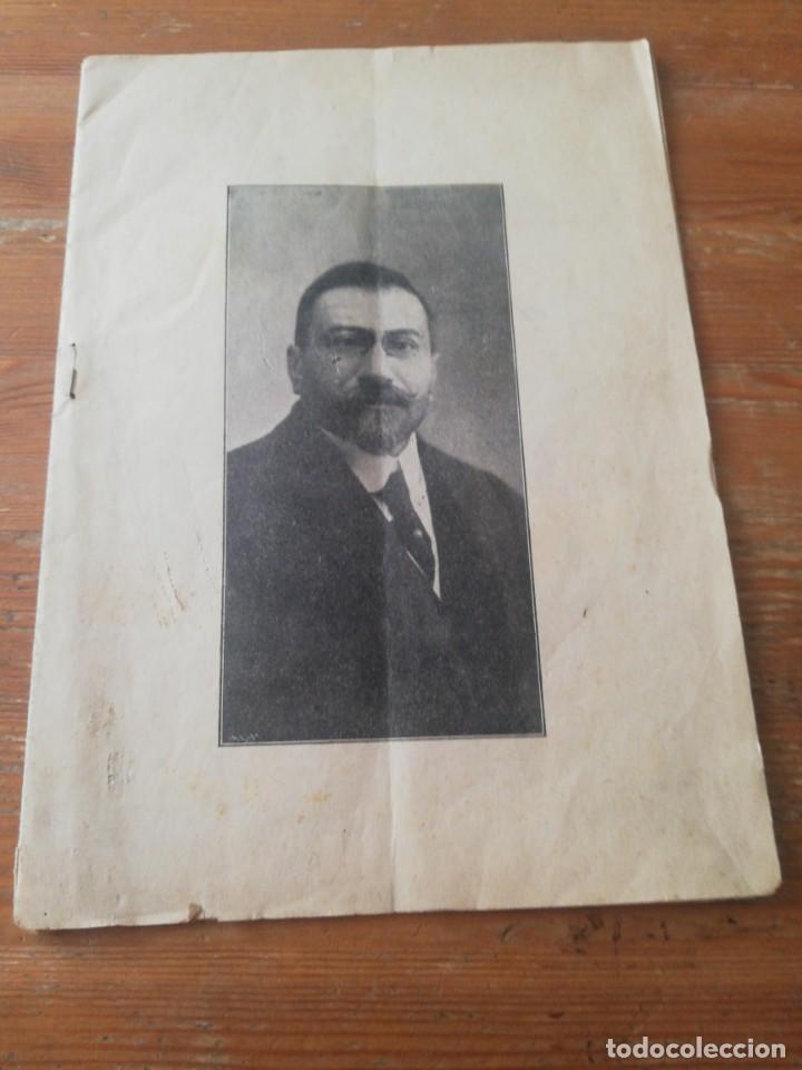 Libros antiguos: Discurso D. Juan Vazquez de Mella y Fanjul, diputado a cortes por Pamplona. 25 de mayo 1914 - Foto 2 - 165501466