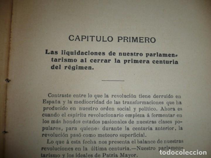 Libros antiguos: LA CRISIS DE NUESTRO PARLAMENTARISMO JOAQUIN SANCHEZ DE TOCA 1914 MADRID - Foto 7 - 166851138