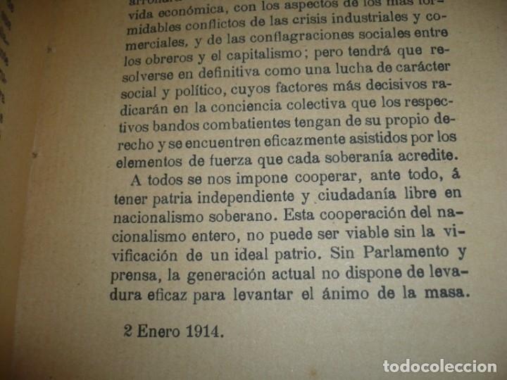 Libros antiguos: LA CRISIS DE NUESTRO PARLAMENTARISMO JOAQUIN SANCHEZ DE TOCA 1914 MADRID - Foto 9 - 166851138