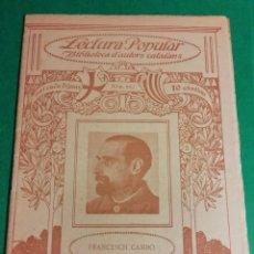 Libros antiguos: AUTONOMIA DE FRANCESCH CAMBO AÑO 1918. Lote 168228828