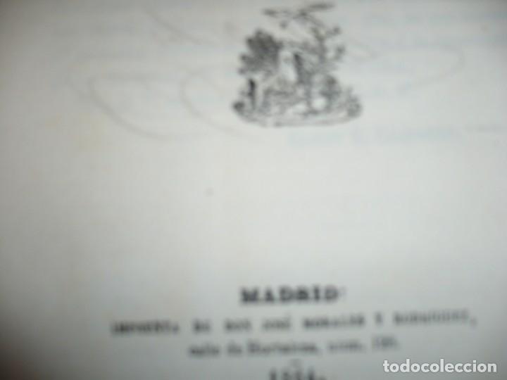 Libros antiguos: EL PARTIDO PROGRESISTA O ESPARTERO Y OLOZAGA RAMON G.CHAPARRO 1864 MADRID DEDICADO - Foto 4 - 169359532