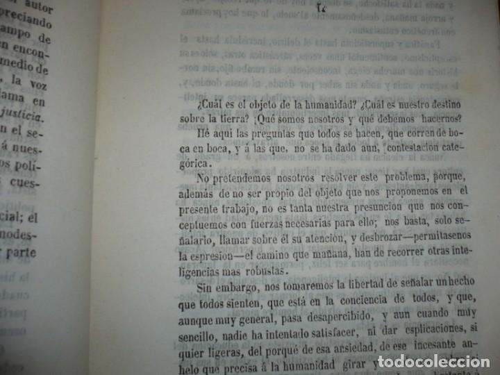 Libros antiguos: EL PARTIDO PROGRESISTA O ESPARTERO Y OLOZAGA RAMON G.CHAPARRO 1864 MADRID DEDICADO - Foto 7 - 169359532