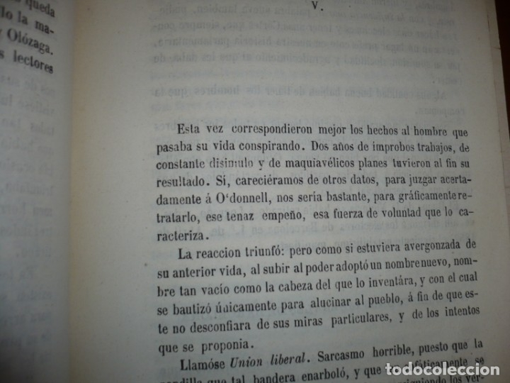 Libros antiguos: EL PARTIDO PROGRESISTA O ESPARTERO Y OLOZAGA RAMON G.CHAPARRO 1864 MADRID DEDICADO - Foto 9 - 169359532