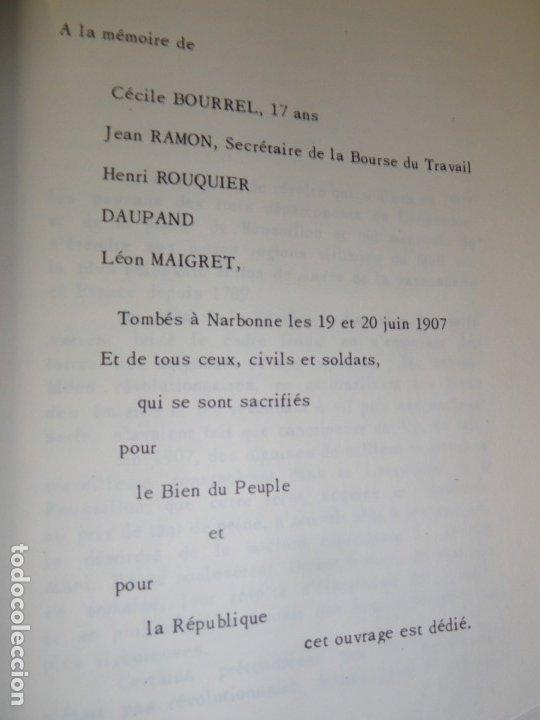 Libros antiguos: A la Gloire des Lutters de 1907 - Andre Marty - Foto 3 - 167564704