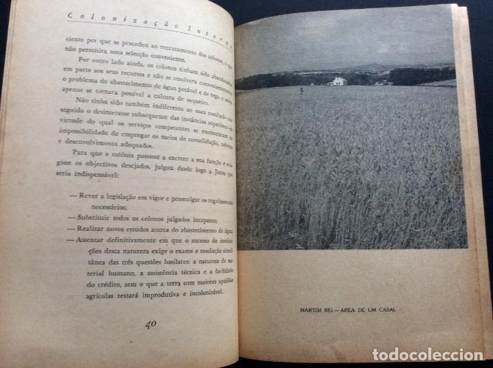 Libros antiguos: CADERNOS DO RESSURGIMENTO NACIONAL: COLONIZAÇÃO INTERNA, años 40. 1.ª edição. - Foto 2 - 173392880