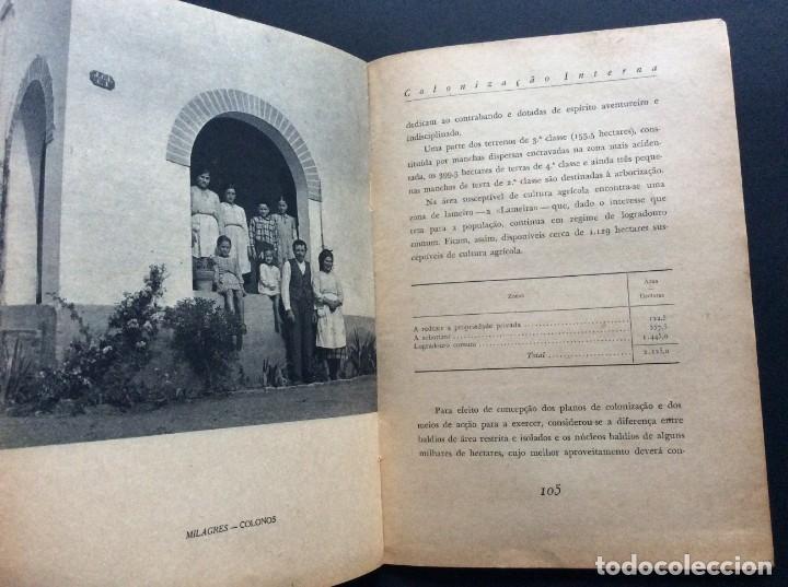Libros antiguos: CADERNOS DO RESSURGIMENTO NACIONAL: COLONIZAÇÃO INTERNA, años 40. 1.ª edição. - Foto 3 - 173392880