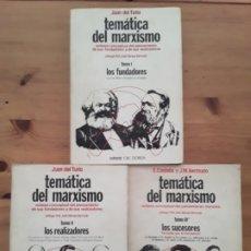 Libros antiguos: JUAN DE TURIA /TEMATICA DEL MARXISMO TOMO I,II I III. Lote 173458260