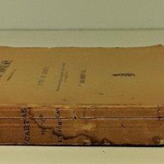 Libros antiguos: CARTAS POLÍTICO-ECONÓMICAS ESCRITAS POR EL CONDE DE CAMPOMANES, AL CONDE DE LERENA. . Lote 175775278